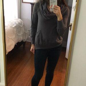 Anthropologie cozy sweatshirt